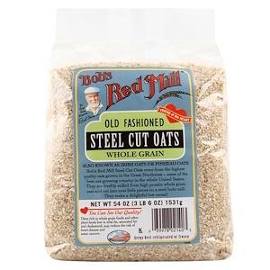 Бобс Рэд Милл, Steel Cut Oats, 54 oz (3 lbs 6 oz) 1,531 g отзывы