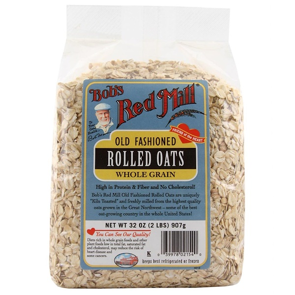 Bob's Red Mill, Old Fashioned Rolled Oats, 2 lbs (907 g)