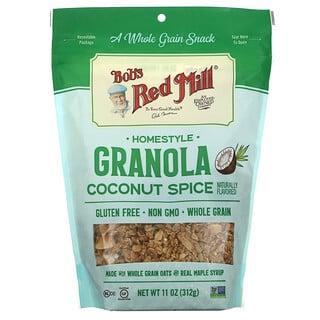 Bob's Red Mill, Печеная гранола, кокос и специи, 312г (11унций)