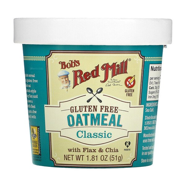 Oatmeal Cup, Classic, 1.81 oz (51 g)