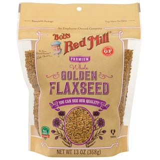 Bob's Red Mill, Whole Golden Flaxseed, 13 oz (368 g)