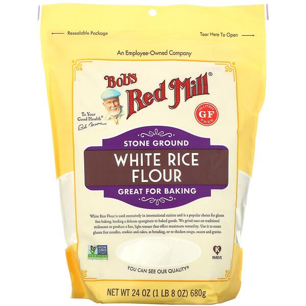 White Rice Flour, 24 oz (680 g)