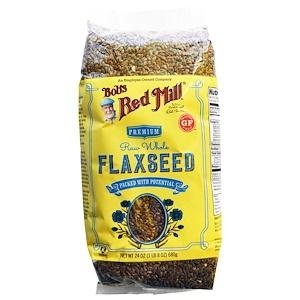 Бобс Рэд Милл, Raw Whole Flaxseed, 24 oz (680 g) отзывы покупателей