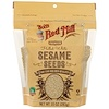 Bob's Red Mill, Hulled White Sesame Seeds, 10 oz (283 g)