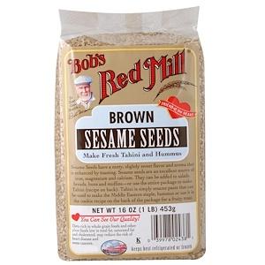 Бобс Рэд Милл, Brown Sesame Seeds, 16 oz (453 g) отзывы