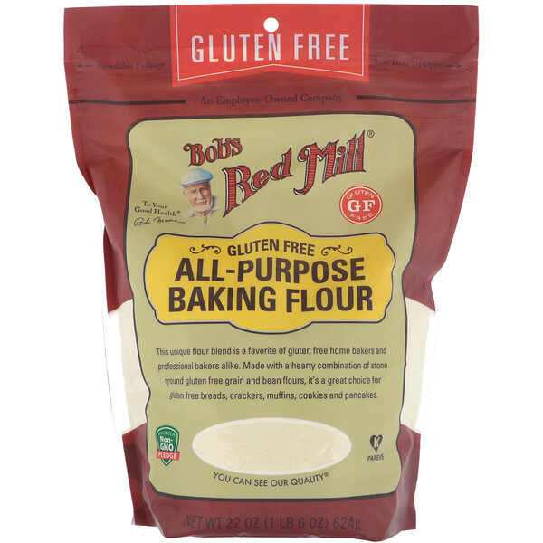 Bob's Red Mill, All Purpose Baking Flour, Gluten Free, 22 oz (624 g)