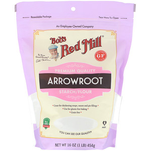 Bob's Red Mill, Arrowroot Starch/Flour, Gluten Free, 16 oz (454 g)