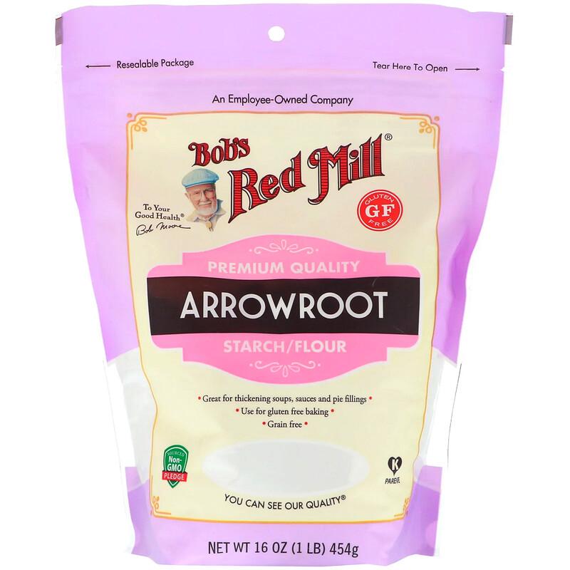 Bob's Red Mill, Arrowroot Starch/Flour, Gluten Free, 16 oz (454 g)