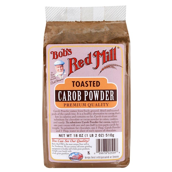 Toasted Carob Powder, 18 oz (510 g)