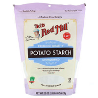 Bob's Red Mill, Potato Starch, Unmodified, Gluten Free, 22 oz (623 g)