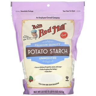 Bob's Red Mill, Potato Starch, Unmodified, Gluten Free, 22 oz (623 g)