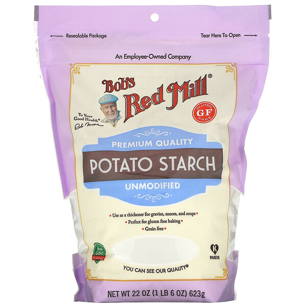Potato Starch, Unmodified, Gluten Free, 22 oz (623 g)