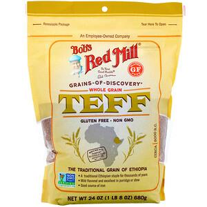 Бобс Рэд Милл, Teff, Whole Grain, 24 oz (680 g) отзывы покупателей
