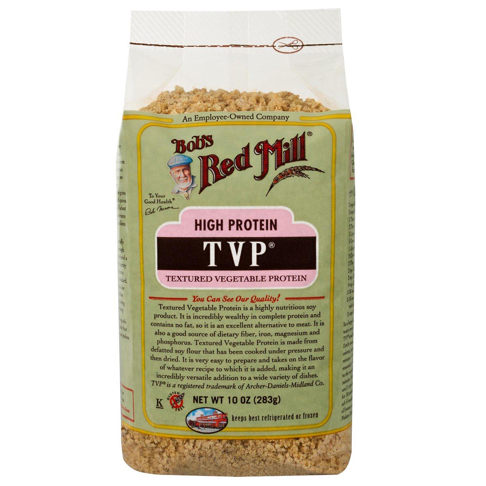Bob's Red Mill, TVP, текстурированный растительный белок, 10 унций (283 г)