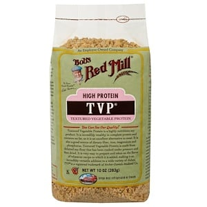 Бобс Рэд Милл, TVP, Textured Vegetable Protein, 10 oz (283 g) отзывы покупателей