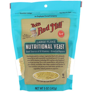Bob's Red Mill, Large Flake Nutritional Yeast, Gluten Free, 5 oz (142 g)
