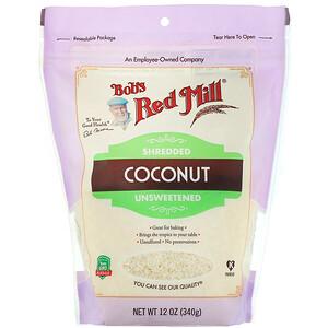 Бобс Рэд Милл, Shredded Coconut, Unsweetened, 12 oz (340 g) отзывы
