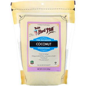 Бобс Рэд Милл, Fine Macaroon Coconut, Unsweetened, 12 oz (340 g) отзывы