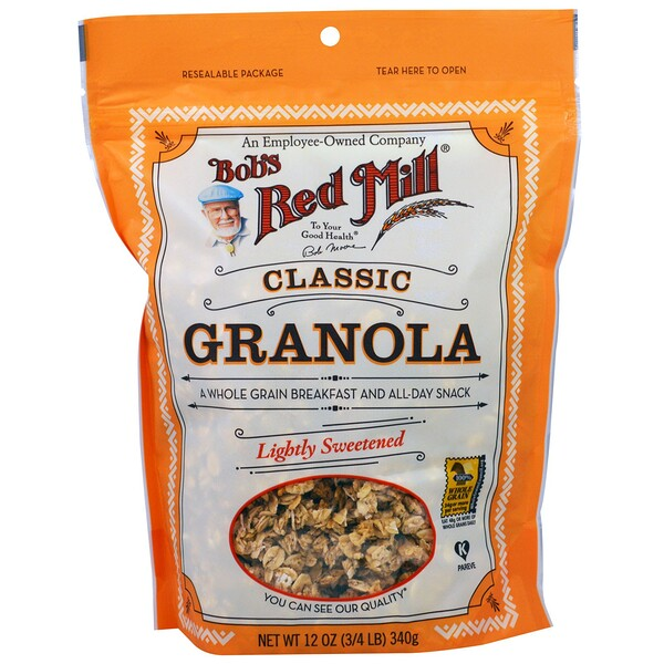 Classic Granola, Lightly Sweetened, 12 oz (340 g)
