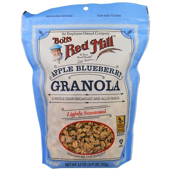Bob's Red Mill, 蘋果藍莓燕麥片,12盎司(340克)
