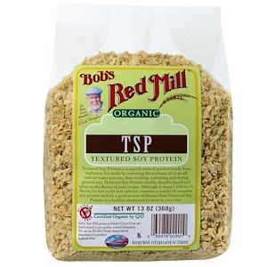 Бобс Рэд Милл, Organic, TSP, Textured Soy Protein, 13 oz (368 g) отзывы