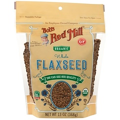 Bob's Red Mill, Whole Flaxseed, 13 oz (368 g)