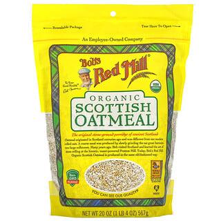 Bob's Red Mill, Organic Scottish Oatmeal, 20 oz (567 g)