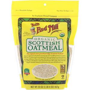 Бобс Рэд Милл, Organic Scottish Oatmeal, 20 oz (567 g) отзывы покупателей