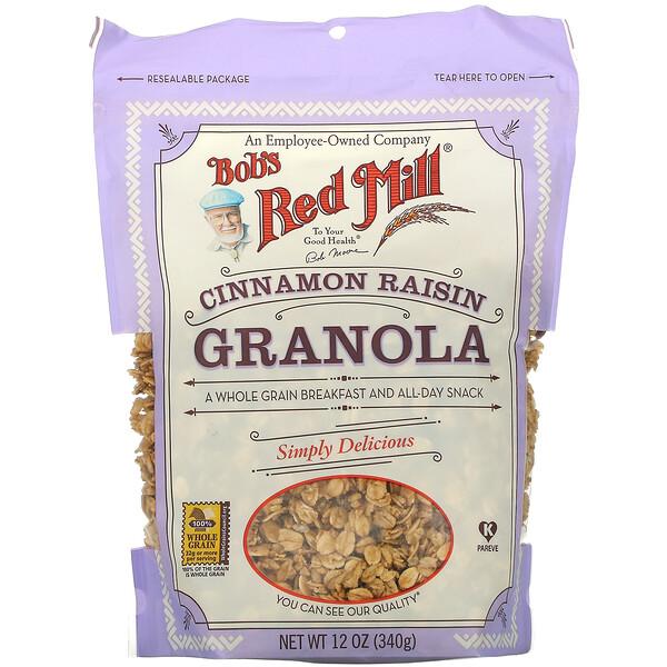 Cinnamon Raisin Granola, 12 oz (340 g)