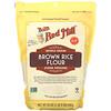 Bob's Red Mill, Brown Rice Flour, Whole Grain, 24 oz (680 g)