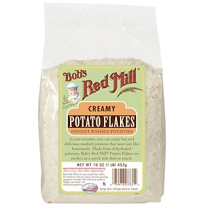 Бобс Рэд Милл, Potato Flakes, Instant Mashed Potatoes, 16 oz (453 g) отзывы