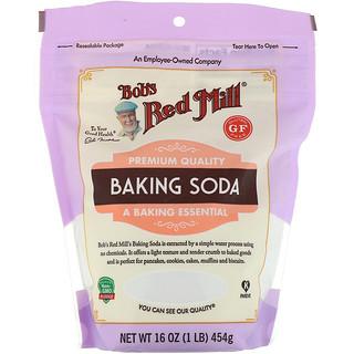 Bob's Red Mill, Baking Soda, Gluten Free, 16 oz (454 g)