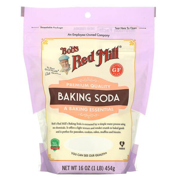 Bob's Red Mill, Baking Soda, Gluten Free, 16 oz (454 g)