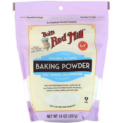 Купить Bob's Red Mill Пекарный порошок двойного действия, без глютена, 397г (14унций)