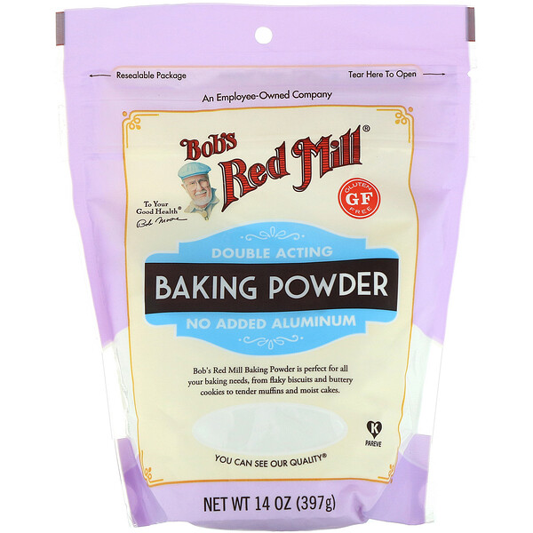 Bob's Red Mill, Baking Powder, Gluten Free, 14 oz (397 g)