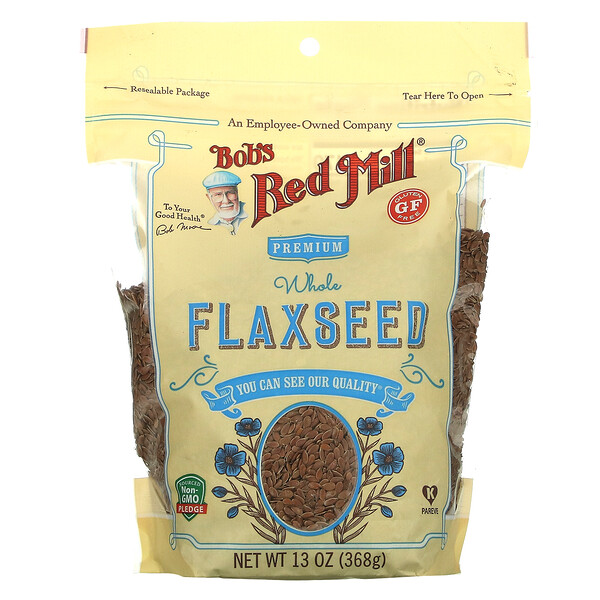Bob's Red Mill, Premium Whole Flaxseed, 13 oz (368 g)