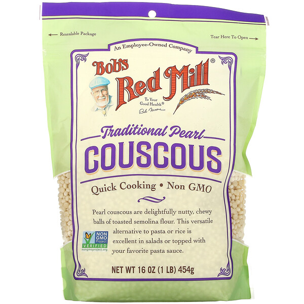 Traditional Pearl Couscous, 16 oz (454 g)