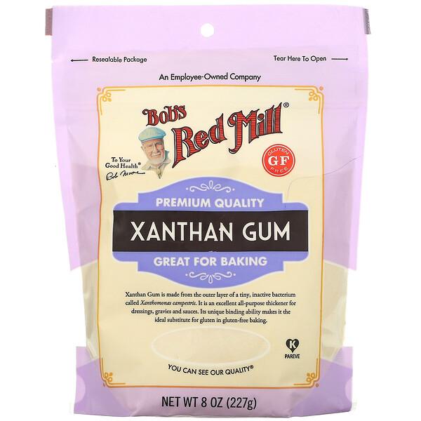 Xanthan Gum, Gluten Free, 8 oz (227 g)