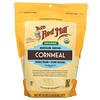Bob's Red Mill, Organic Medium Grind Cornmeal, Whole Grain, 24 oz (680 g)