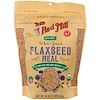 Bob's Red Mill, Organic Whole Ground Flaxseed Meal, 16 oz (453 g)