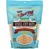 Bob's Red Mill, Organic Steel Cut Oats, Whole Grain, 24 oz (680 g)