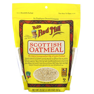 Bob's Red Mill, Scottish Oatmeal, 20 oz (567 g)