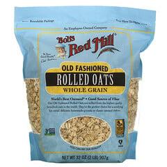 Bob's Red Mill, 經典輾制燕麥,全穀物,32 盎司(907 克)