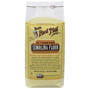 Бобс Рэд Милл, Semolina Flour, 24 oz (680 g) отзывы покупателей