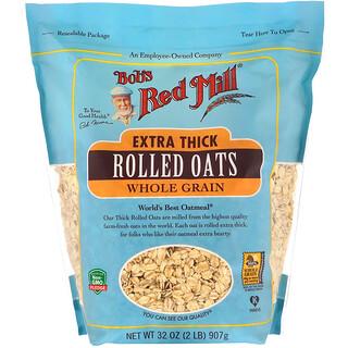 Bob's Red Mill, Avena arrollada extragruesa, integral, sin gluten, 907g (32oz)