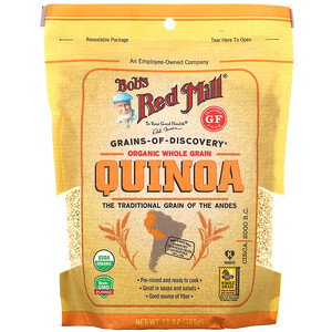 Bob's Red Mill, Organic Whole Grain Quinoa, 13 oz (369 g)