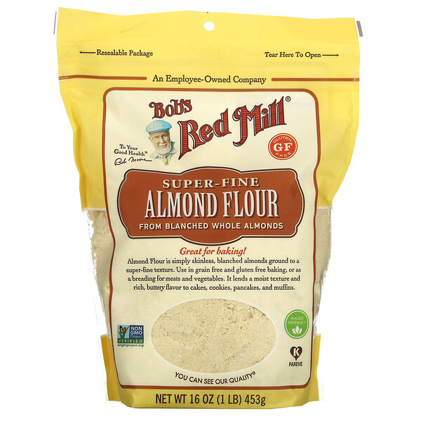 Super-Fine Almond Flour, 16 oz (453 g)