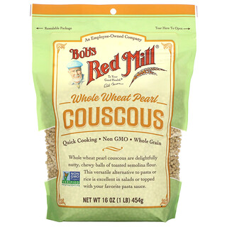 Bob's Red Mill, Whole Wheat Pearl Couscous, 16 oz ( 454 g)