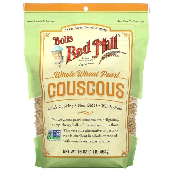 Whole Wheat Pearl Couscous, 16 oz ( 454 g)