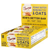 Bob's Red Mill, Bob's Better Bar, Peanut Butter Banana & Oats, 12 Bars, 1.76 oz (50 g) Each